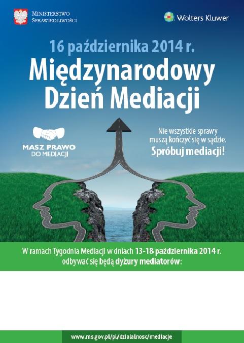 międzynarodowy dzień mediacji 2014